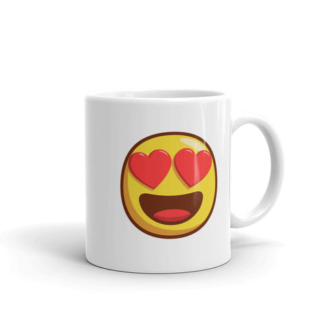 heart smiley emoji - mugsouk