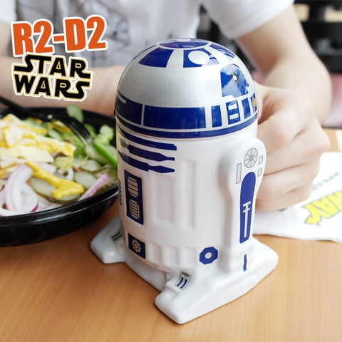 3D R2-D2 Robot Special Edition Coffee Mugs - mugsouk