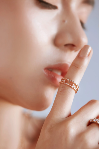 Faith Ring by Love by the Moon Studio
