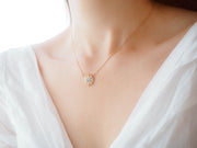 Ray Of Light Necklace (MoonStone) - Love by the Moon