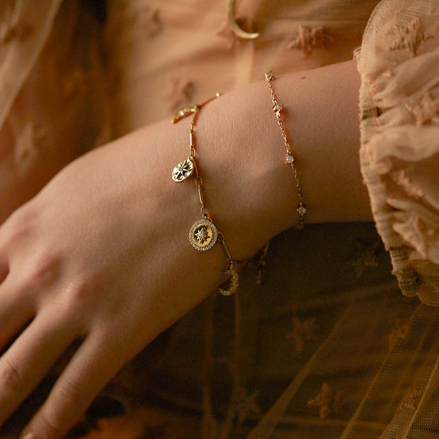 Love by the Moon Gold Bracelet - Love by the Moon