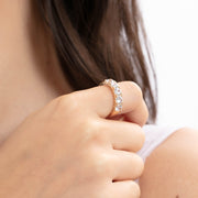 (Preorder)You & I Gold Ring