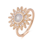Ray Of Light Ring (MoonStone) - Love by the Moon
