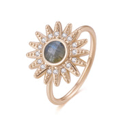 Ray Of Light Ring (Labradorite) - Love by the Moon