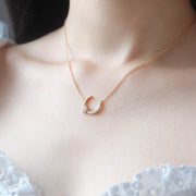 Night Time Gold Necklace