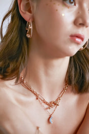 (Preorder) Embrace Gold Toggle Necklace