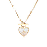 Lover Gold Necklace (Moonstone)