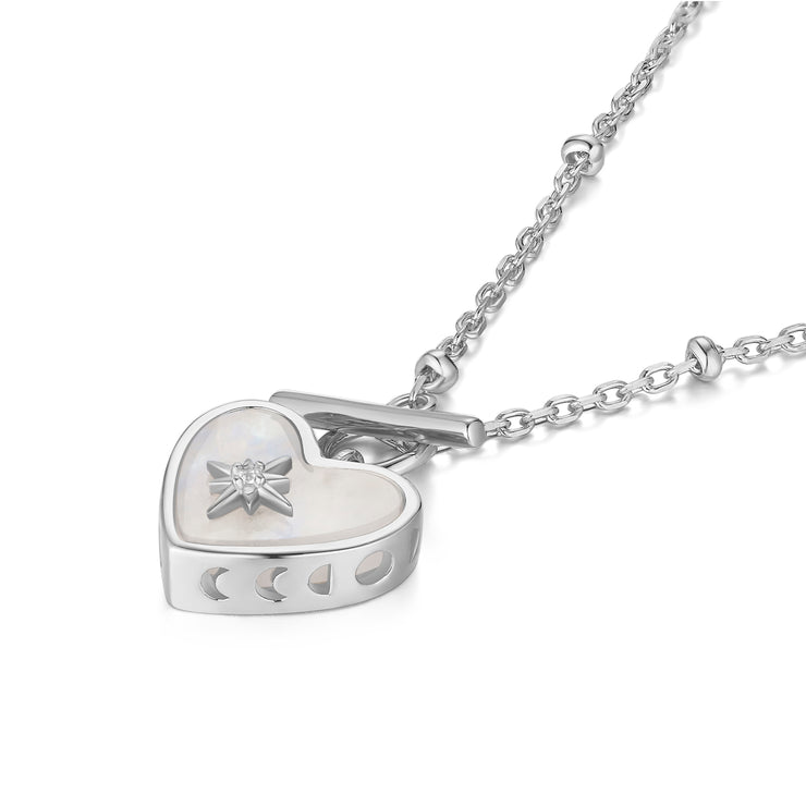 Lover Silver Necklace