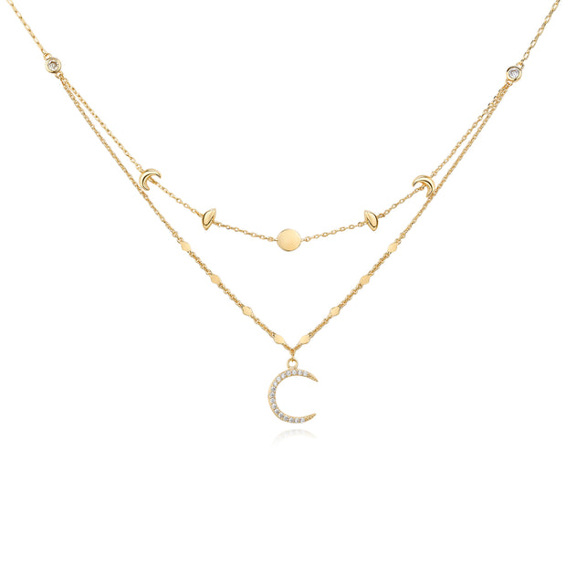 Moon Phases Gold - Love by the Moon