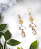 The Athalia Earring - Clear