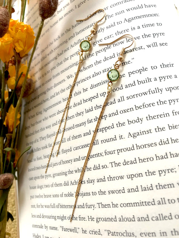 The Birthstone Earring - August