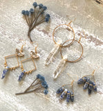 The Brinley Earring - Blue Sodalite