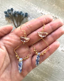 The Eunice Earring - Blue Sodalite