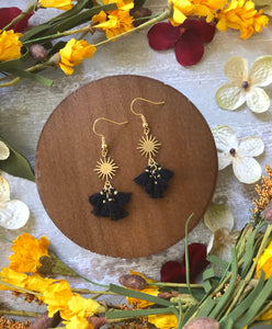 The Delilah Earring - Black