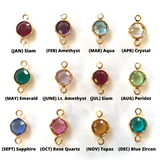 The Hera Earring - 12 Birthstones Available