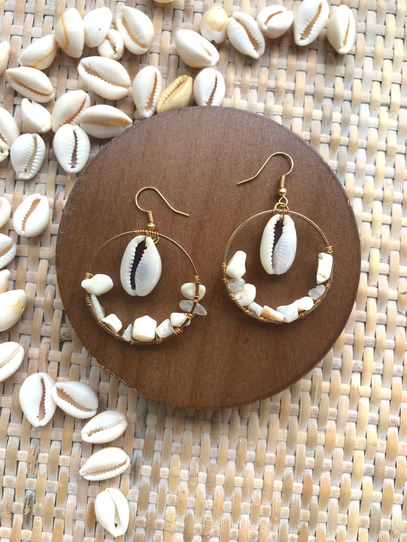 The Madeline Earring - Neutral