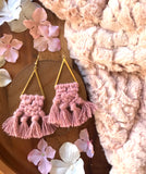 The Finley Earring - Pink