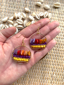 The Sunset Earring