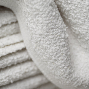"Partex Economy™ 11"" x 40"" White Towels"