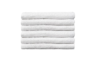 "Partex Economy™ 14"" x 25"" White Towels"