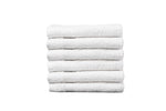 "Partex Supreme™ 12"" x 12"" White Towels"