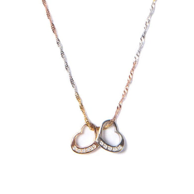 Connected Hearts Necklace