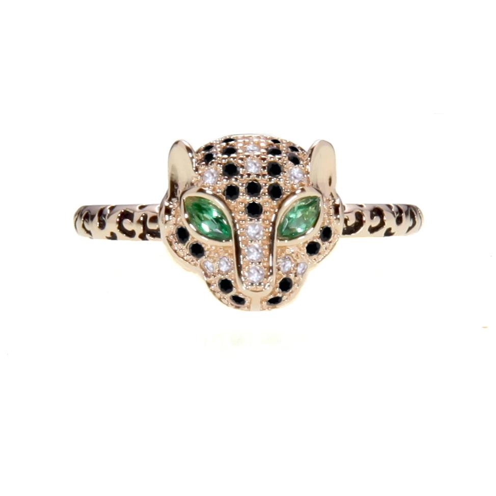 Jaguar Print Ring