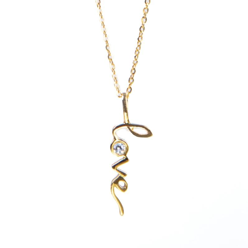 Love Necklace (White)
