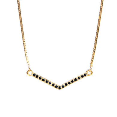 Mixer Black Necklace