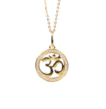 Load image into Gallery viewer, Om Necklace