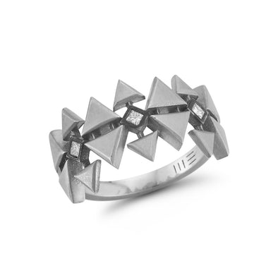 Wide Tribe Ring