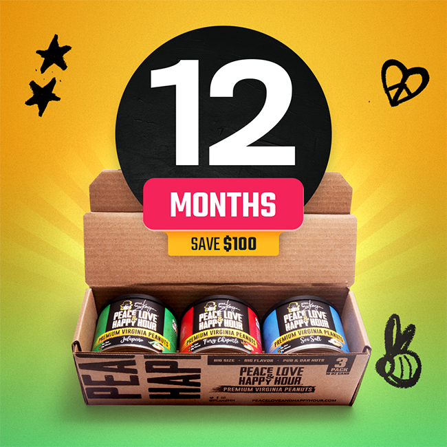 Peanuts Subscription - 12 Months
