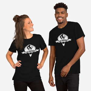 Love Everybody Emblem Black Unisex T-Shirt