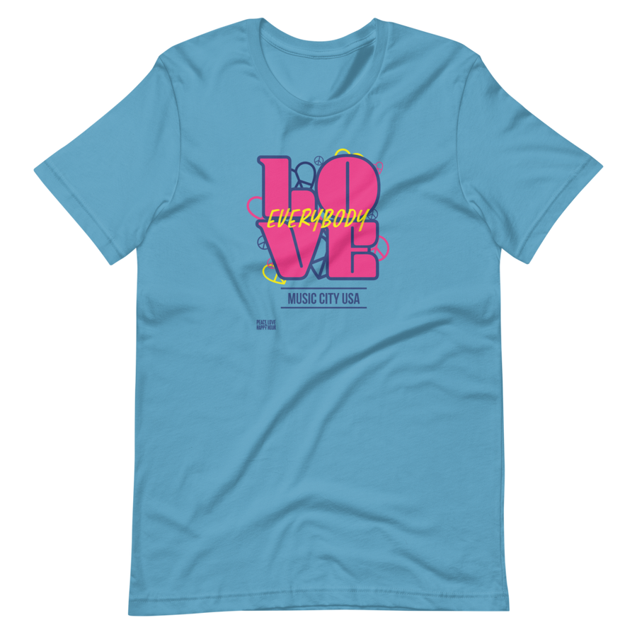 Love Everybody (Music City USA) Unisex T-Shirt