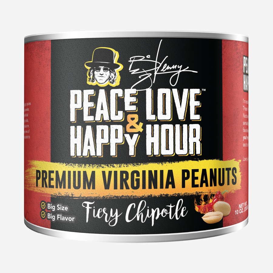 Virginia Peanuts Fiery Chipotle Flavor