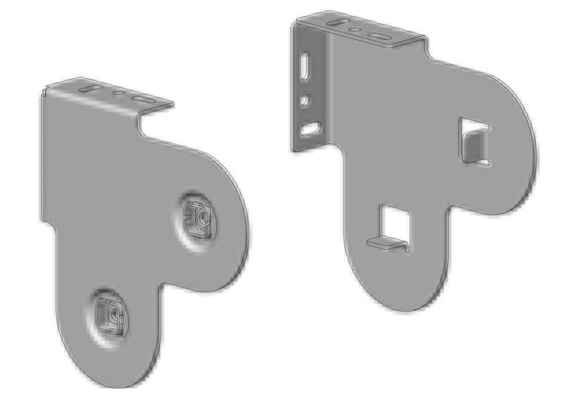 Acmeda RB08 Double Blind (Standard) Brackets