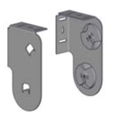 Acmeda RB08 Double Blind (Slim Profile Top Front) Brackets