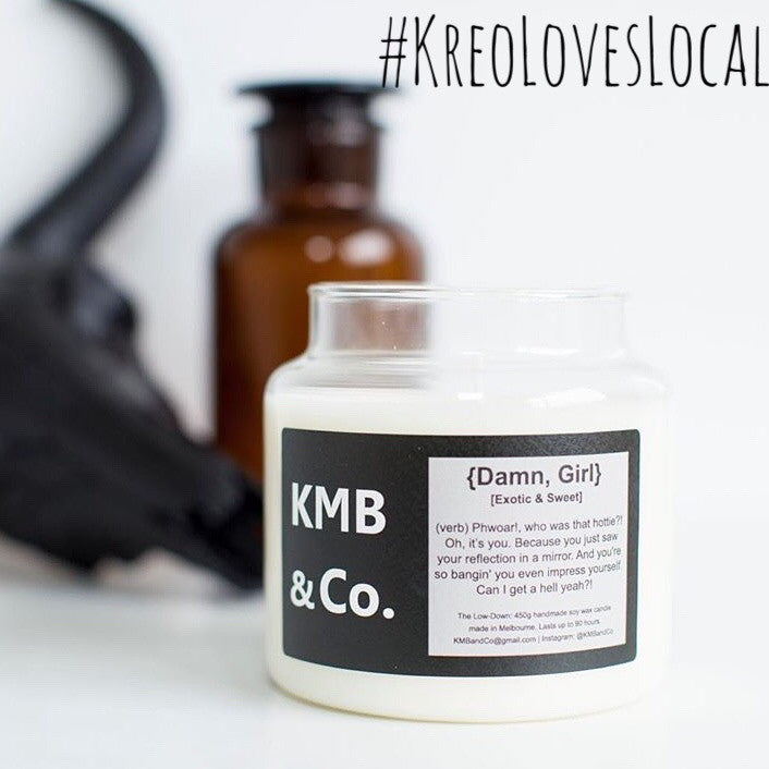 #KreoLovesLocal - Candle Candy