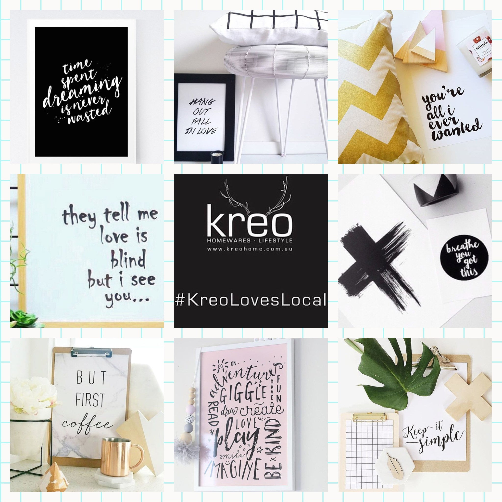 #KreoLovesLocal - Typography
