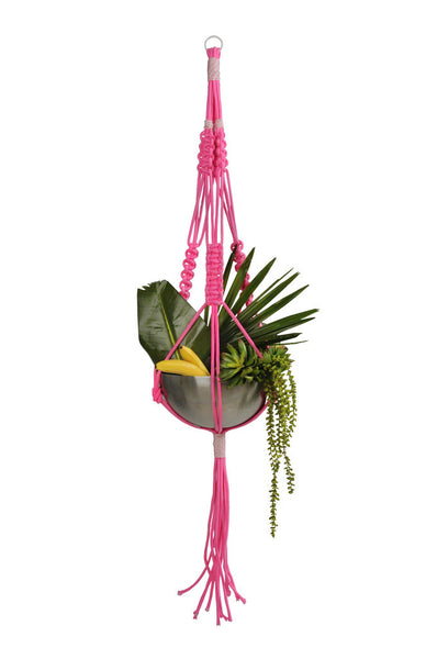 new world macrame colour my world macrame plant hanger by noochi co kreo 6600