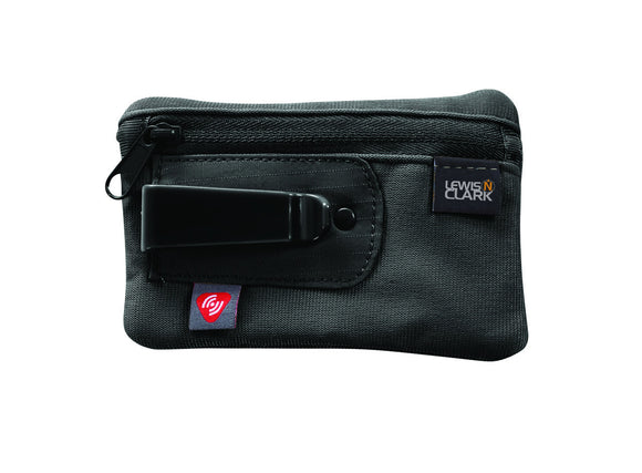 IN STORE ONLY: Lewis & Clark RFID Blocking Clip Stash