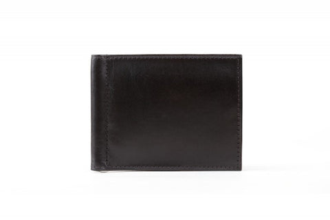 Old Leather  |  Money Clip w/ 3 Credit Pockets and I.D.