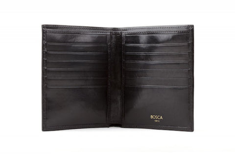 Old Leather  |  12 Pocket Credit Wallet
