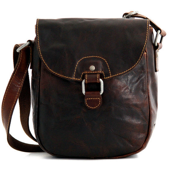 Jack Georges Voyager: Horseshoe Crossbody Bag