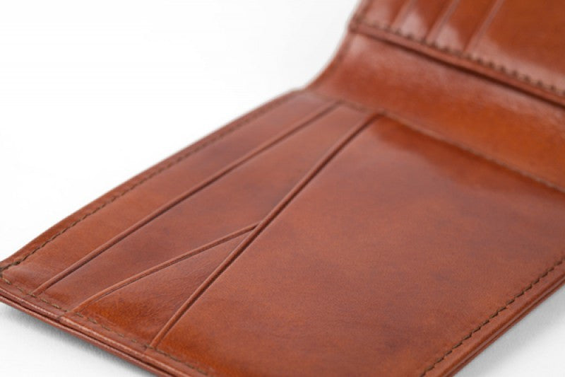 Old Leather  |  Small Bifold Wallet