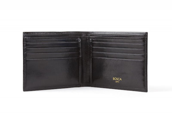 Bosca: Old Leather 8 Pocket Wallet