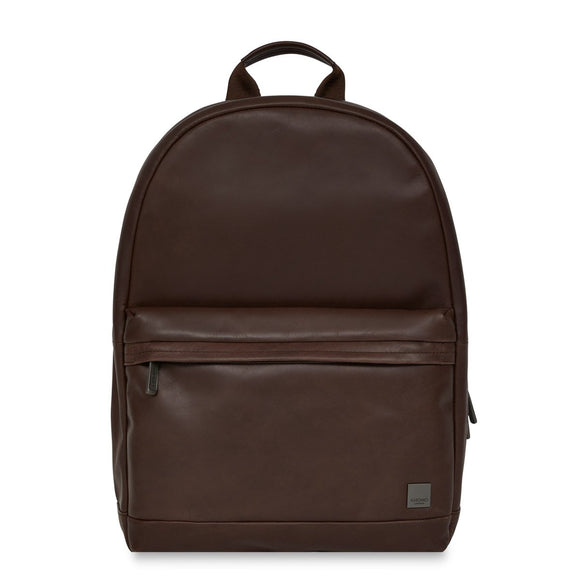 KNOMO: Albion Leather Laptop Backpack 15