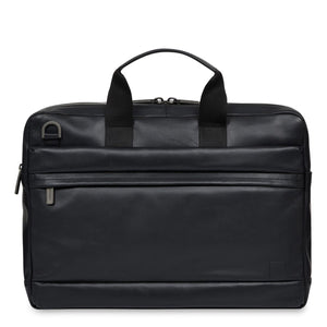 KNOMO: Roscoe Leather Laptop Briefcase 15""