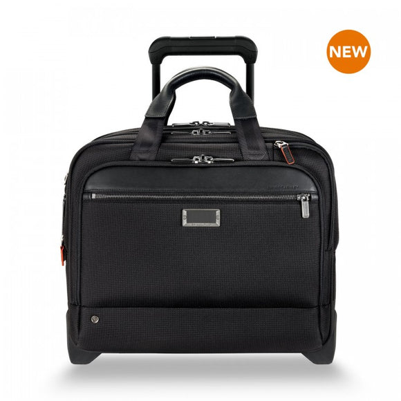 Briggs & Riley @work: Medium 2-Wheel Expandable Brief