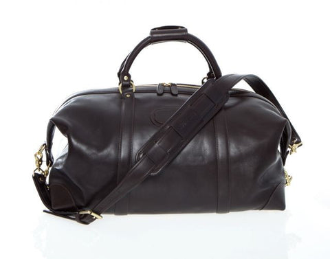 "Korchmar: Lux Twain 22"" Leather Duffel"